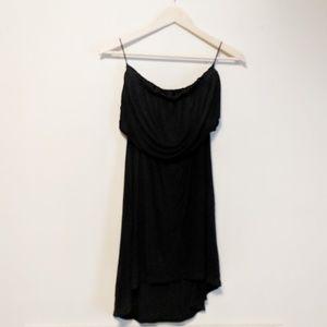 Black Express Strapless Dress Size XS